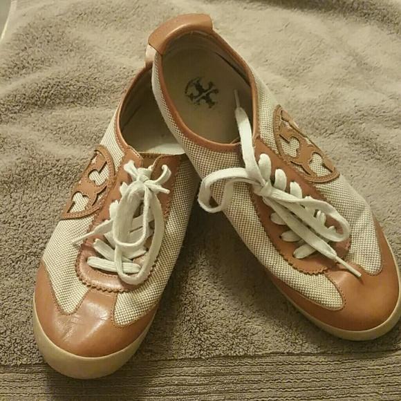 4e39f2b7dad Tory Burch Murphey Sneakers Shoes size 8.5. M 5ad7f8b405f43007aefdc981